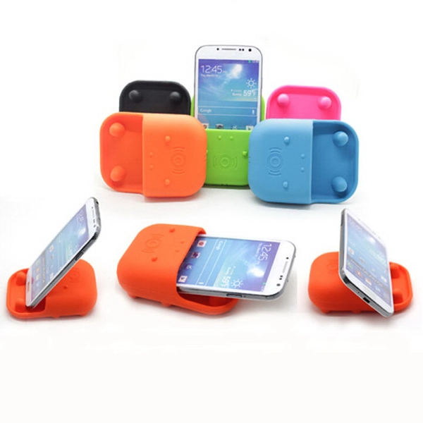 Silicone Phone Speaker With Holder
