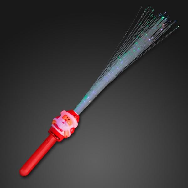 Fiber optic Christmas wand
