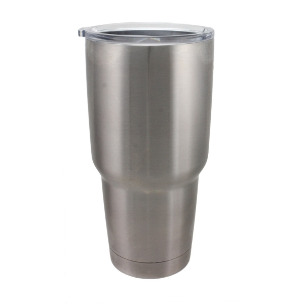 30 oz Insulated Stainless Steel Tumbler With Sliding Lid