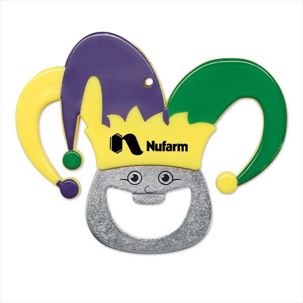 Mardi Gras Bottle Opener
