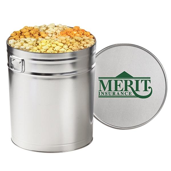 6 Way Savory Popcorn Tin