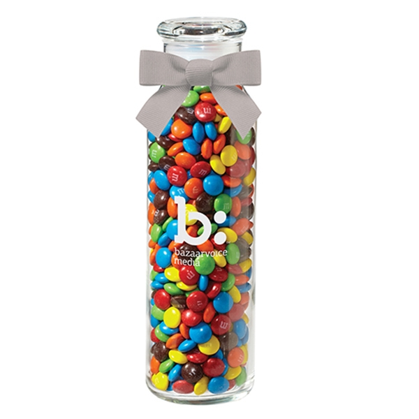 Glass Hydration Jar with M&Ms®