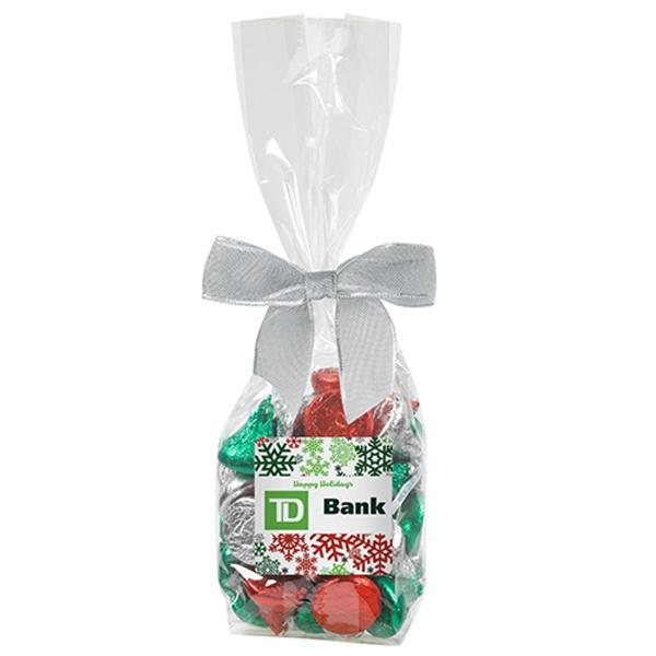 Elegant Mug Stuffer - Hershey's® Holiday Kisses® (5.7 oz)