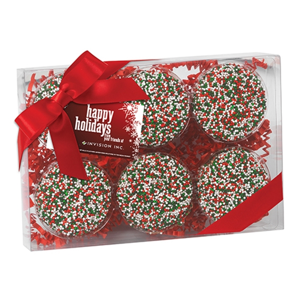Elegant Chocolate Covered Oreo Gift Box