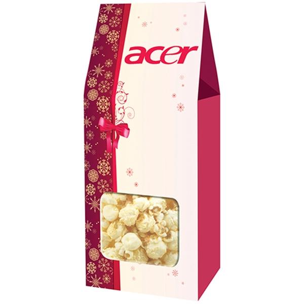 Gourmet Popcorn Gable Box - White Cheddar Truffle