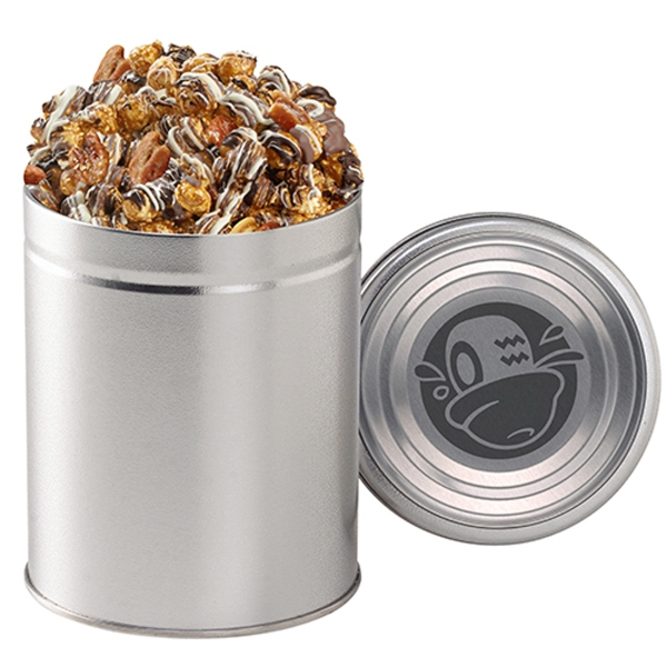 Quart Round Tin / Snack Munch
