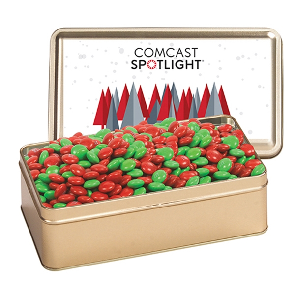 Large Rectangle Tin / Holiday M&M's®
