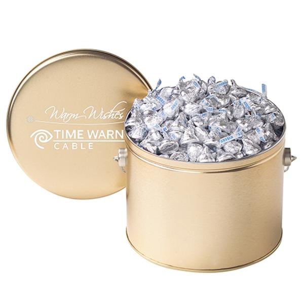 Hershey's® Kisses® / Half Gallon Tin