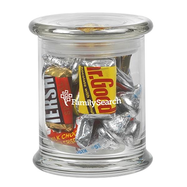 12.5 oz Glass Status Jar