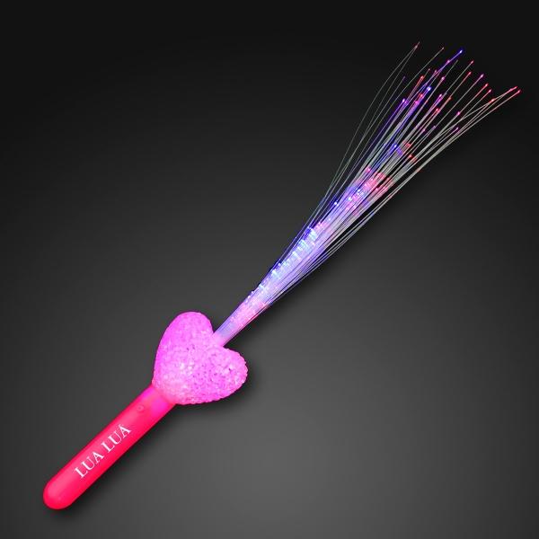 Fiber optic heart wand