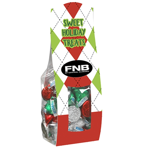 Large Candy Desk Drop w/ Hershey's® Holiday Kisses®