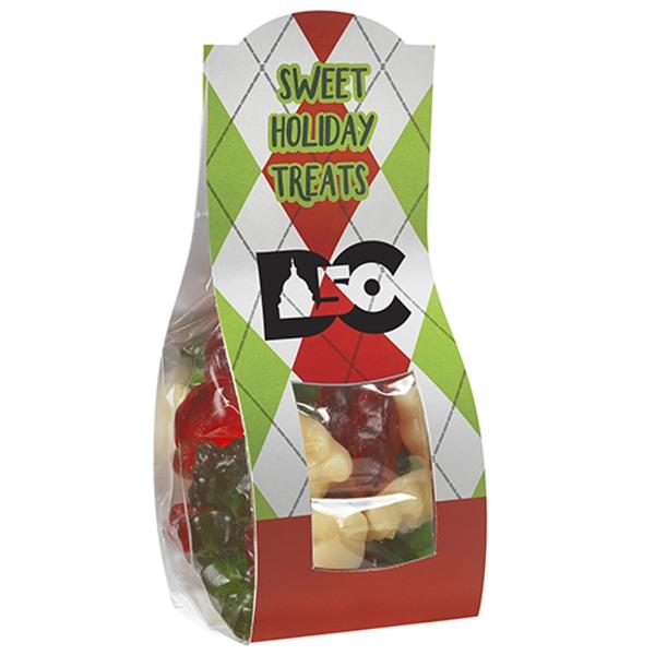 Small Candy Desk Drop w/ Holiday Gummy Bears (4 oz.)
