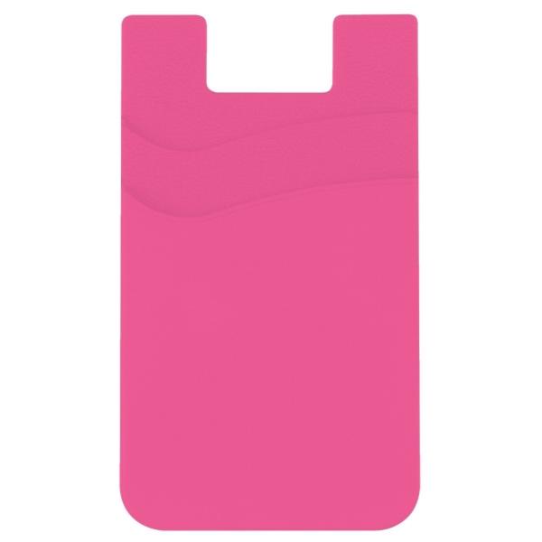 Dual Pocket Silicone Phone Wallet
