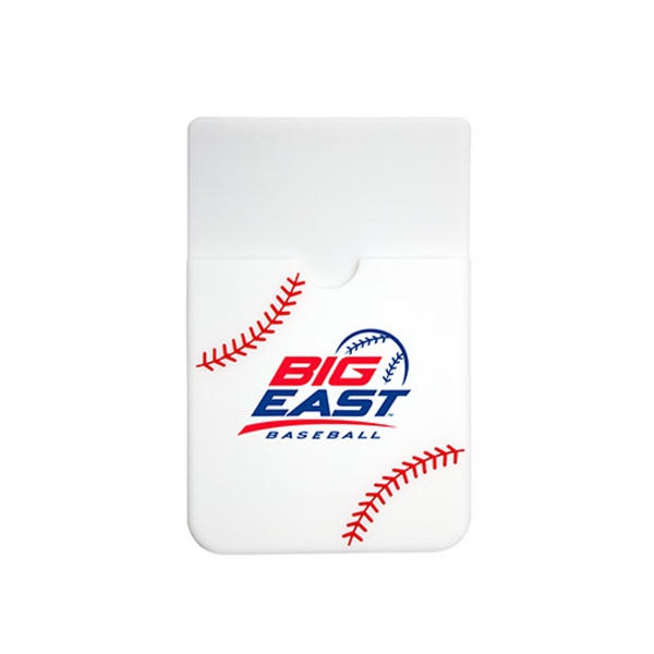 Baseball Print Silicone Smart Wallet