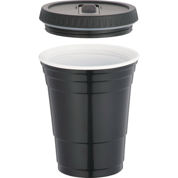 Game Day Cup with Lid 16oz - Game Day Cup with Lid 16oz