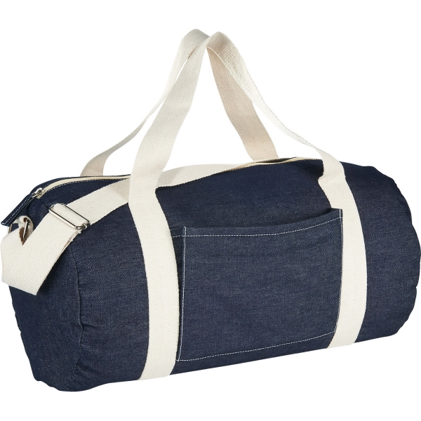 "Denim 20"" Barrel Duffel Bag"