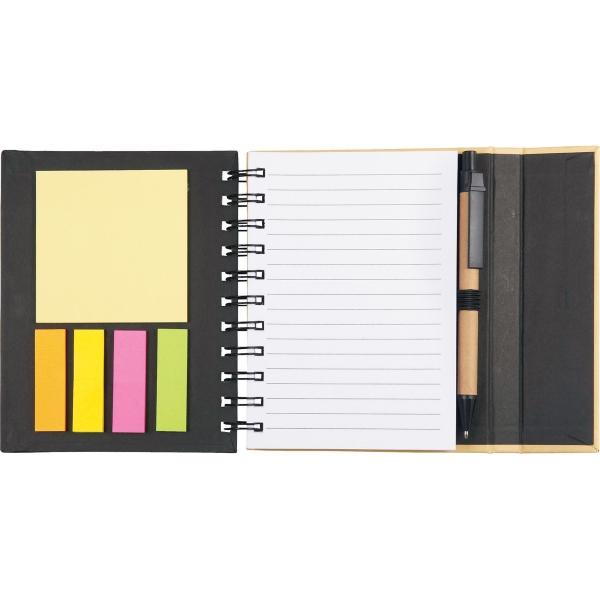 """5.5"""" x 6"""" Lock-it Mini Spiral Notebook w"""