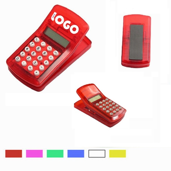 Mini Calculator Clip With Magnet