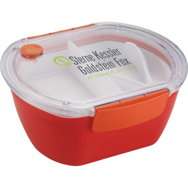 Punch Oval Food Container