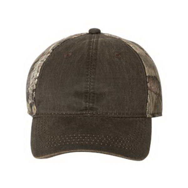 Outdoor Cap Camo Cap with Weathered Front