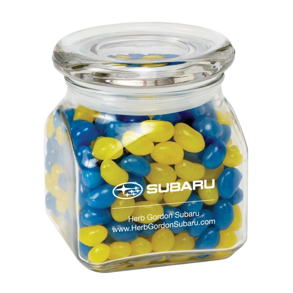 Contemporary Glass Jar / Gourmet Jelly Beans