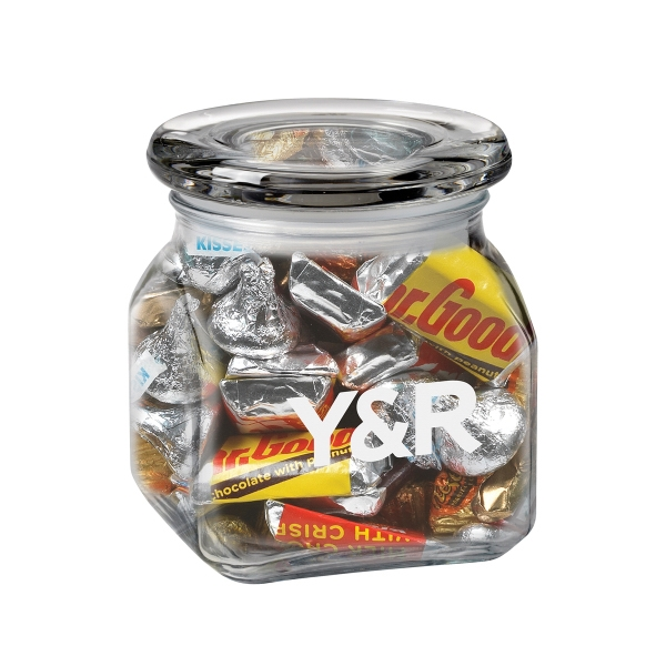 Contemporary Glass Jar / Hershey's® Everyday Mix