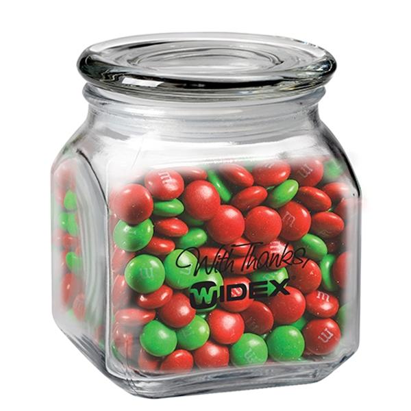 20 oz Contemporary Glass Jar