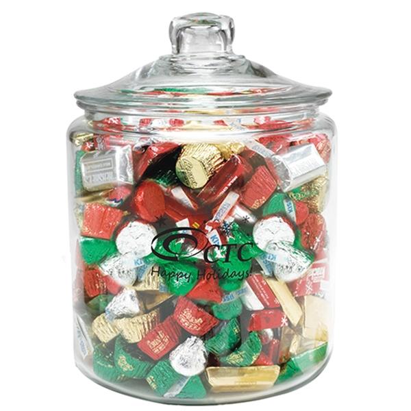 Half Gallon Glass Jar