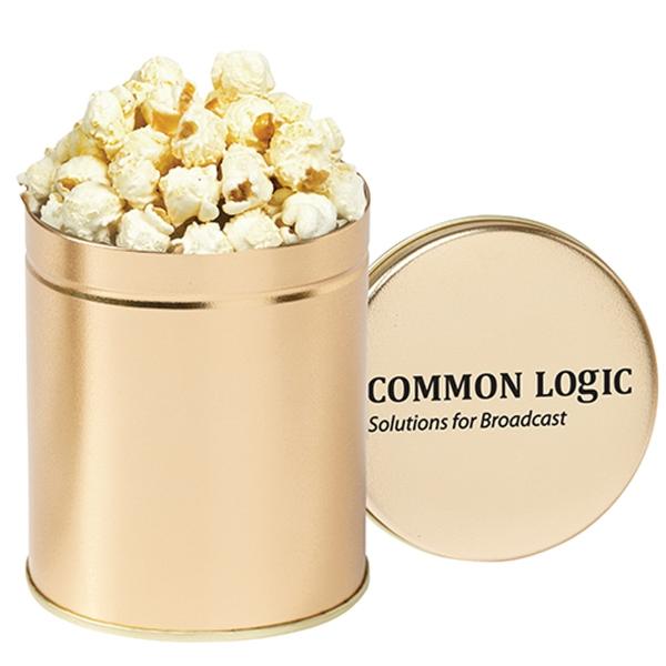 Gourmet White Cheddar Popcorn Tin