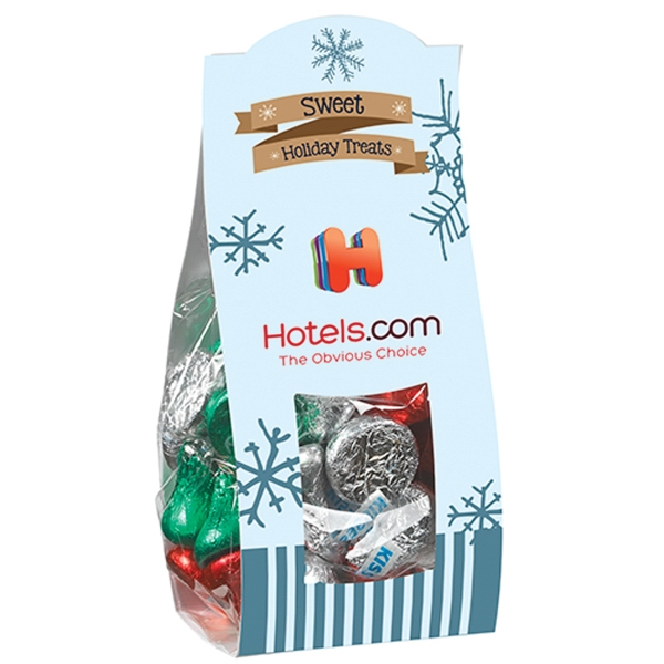 Small Candy Desk Drop w/ Hershey's® Holiday Kisses®