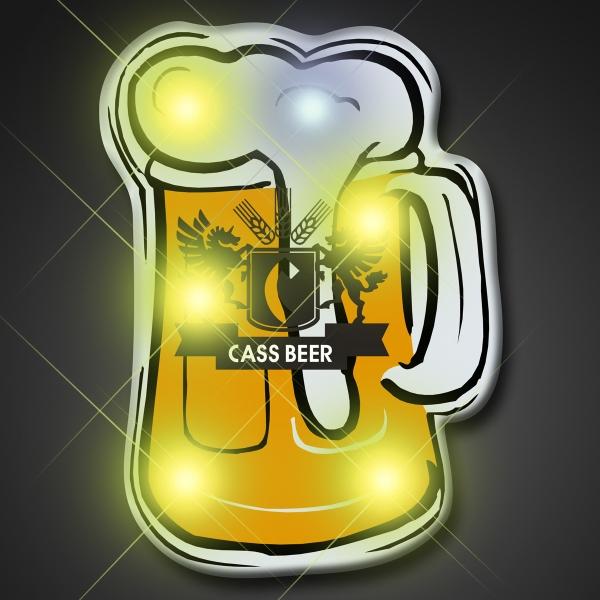 Beer Mug Blinking Lights