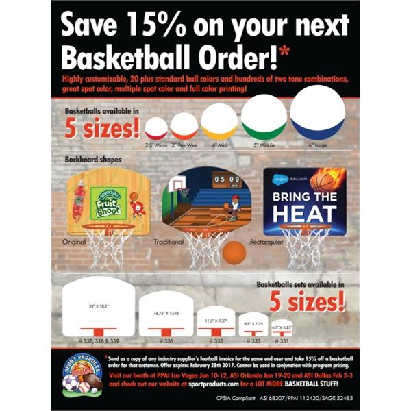 Micro Basketball Set