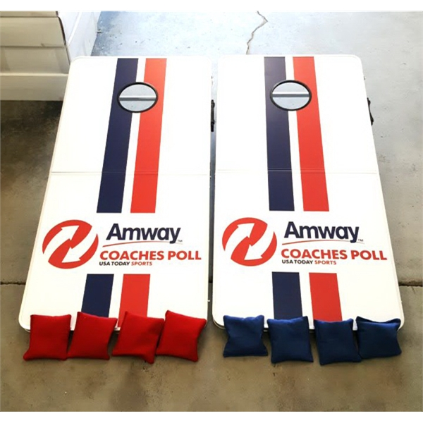 ... CUSTOM 2 In 1 Cornhole Boards U0026amp; Tailgate Pong Table   CUSTOM  Official ...