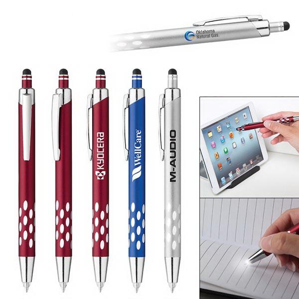 Iris Aluminum Stylus Ballpoint/Light Pen