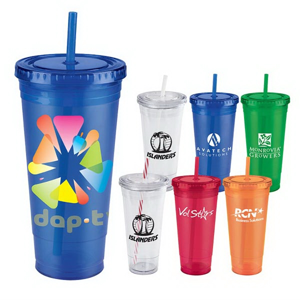 Jumbo Everyday Plastic Cup Tumbler - 24 Oz.