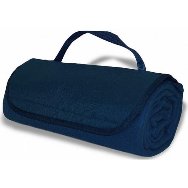 Roll Up Blanket - Navy Blue