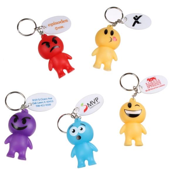 Emoji Man Key Chain