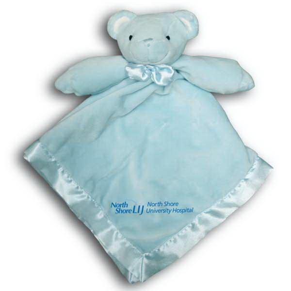 Blue Bear Baby Blanket