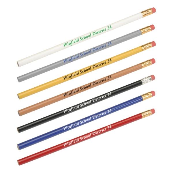 Round Wooden Pencil
