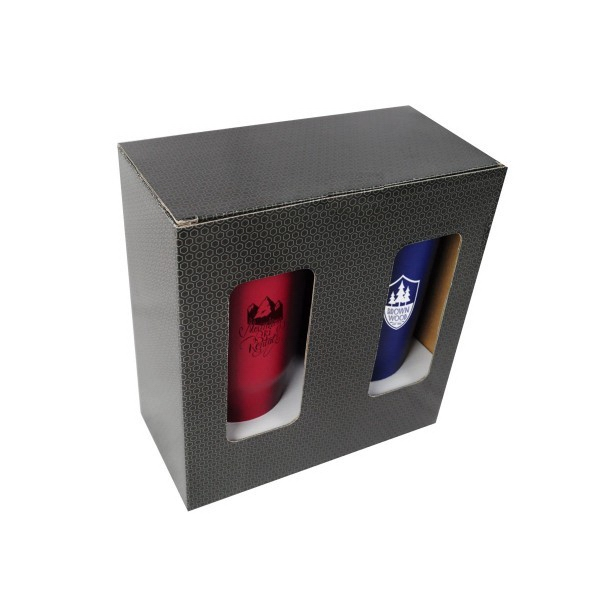 Double Medium Drinkware Gift Box