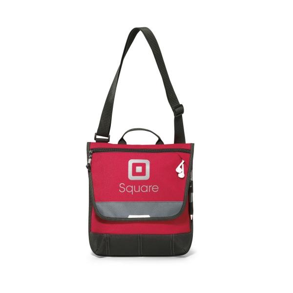 Omni Vertical Messenger Bag - Tablet messenger bag.