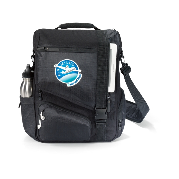 Life in Motion® Momentum Computer Messenger Bag