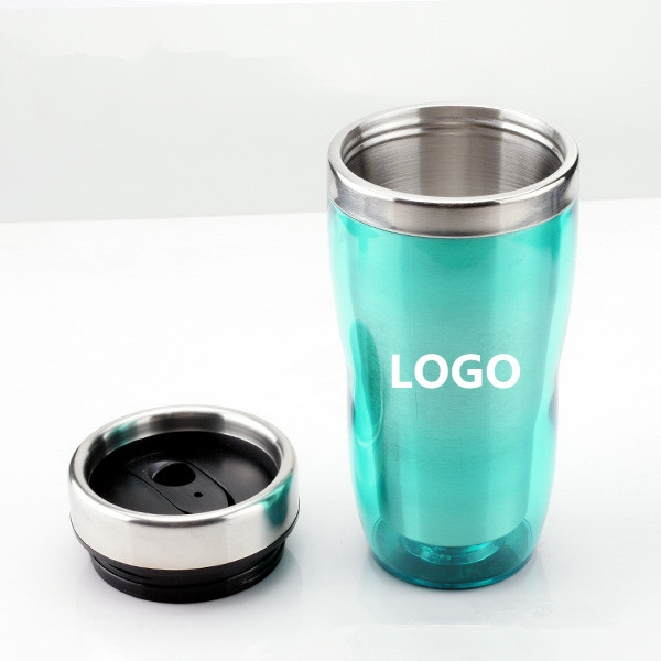 16 OZ Double Stainless Steel Travel Mug