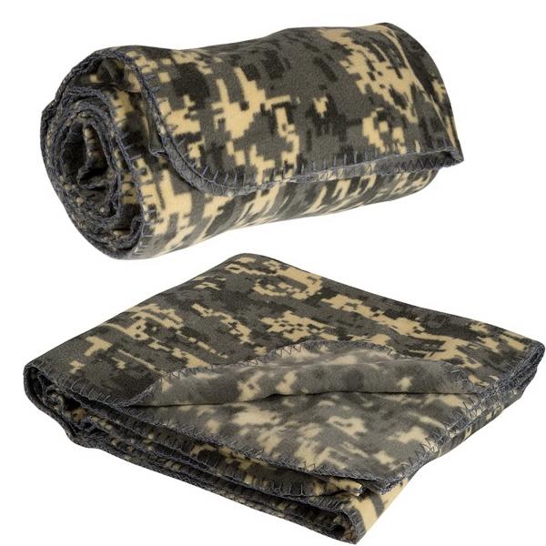 Digital Camo Blanket