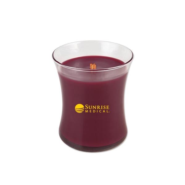 Woodwick (R) Medium Jar Candle - Black Cherry
