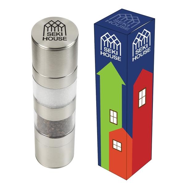 Salt & Pepper Mill With Custom Box