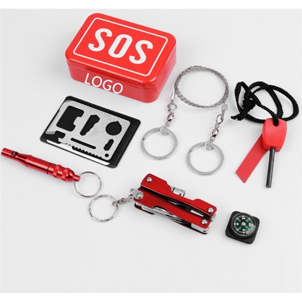 Outdoor Multi-Function Tool Kit