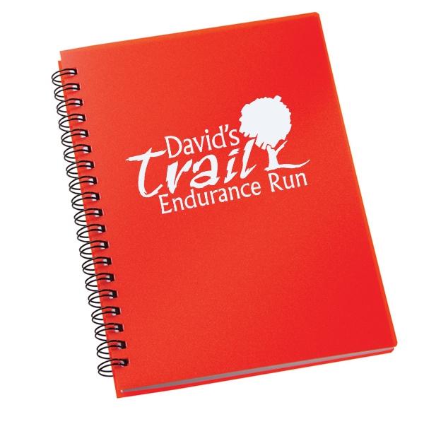 Red Duchess Spiral Notebook