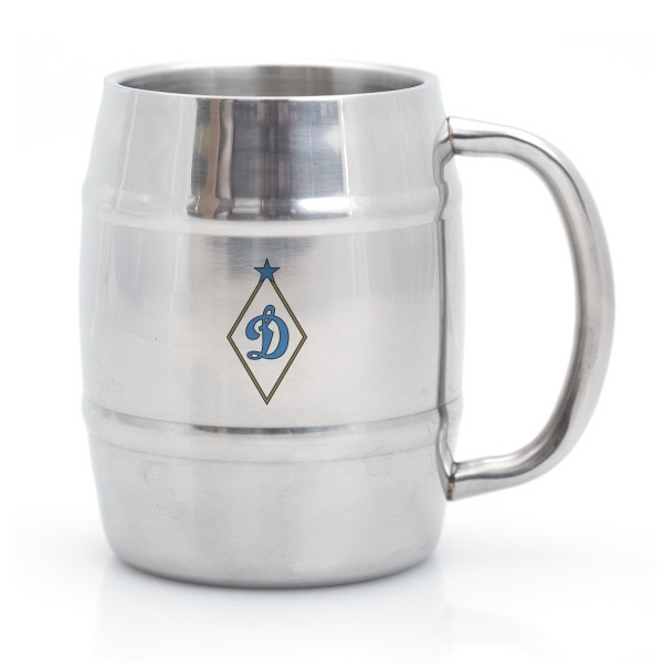LEV 14 OZ. STAINLESS STEEL BARREL MUG