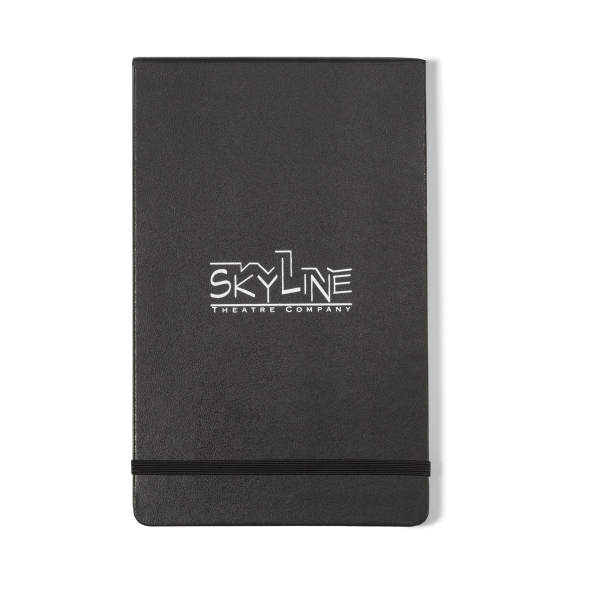 Moleskine® Hard Cover Ruled Large Reporter Notebook
